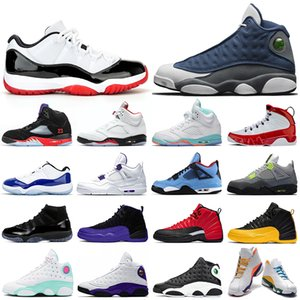 nike air jordan retro hommes chaussures de basket-ball 5s Michigan Royal Game 12s Concord 11s chapeau et robe 13s Gym Red 9s Hommes Baskets Baskets 7-13