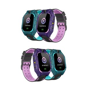 ABS Non Waterproof Children Digital Touch Wristwatch Baby Watch Phone Camera Flashlight Voice Android iOS Anti-lost Kid Toy Gift