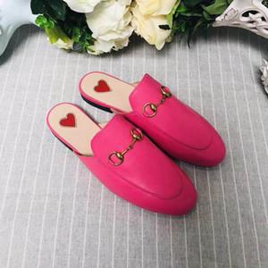 Nouveaux pantoufles d'été de marque Designer, pantoufles de sable, pantoufles à la mode féminine, cuir à semelle plate, taille; 35-41 boîte de ceinture
