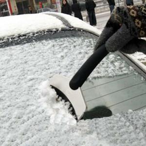 إزالة السيارات الشتاء سيارة الثلج تنظيف المجرفة الجليد مكشطة الجليد المقشة أداة الفرشاة المجرفة