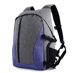 PROWELL Camera Bag Waterproof Digital DSLR Photo Padded Backpack Multi-functional Camera Bag for Outdoor Traveling 3 Colors DC21439 BA