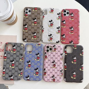 Luxury Leather Skin Cover for IPhone 11 Pro Max X Xs Max XR 8 8Plus 7 7Plus 6 6s Plus Phone Case for Samsung S20 S10 S9 S8 S7 Note 10 9 8