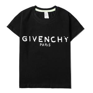 kutu logosu Çocuk Tasarımcı Tişörtlü Sevimli Ayı Desen Tees Lüks Mektupları Kız Aktif Erkek tişört Çocuk Giyim Toptan 2020 Yeni Tops