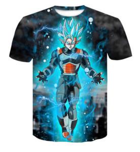 3D Print Dragon Ball Z Guku Männer Kurzarm T-shirt Mode Lässig Kleidung Hip Hop Camisetas Herren Tops Streetwear T-shirt Homme R0131