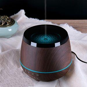 블루투스 스피커 아로마 테라피 에센셜 오일 디퓨저 초음파 음악 플레이어와 차가운 안개 가습기 4 색 등불을 LED