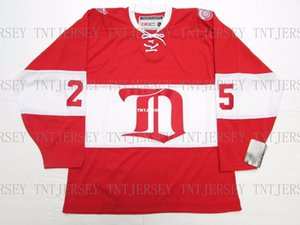 Cheap personalizzati Darren McCarty Detroit Red Wings VINTAGE CCM hockey jersey Mens personalizzata cuciture maglie