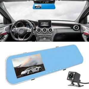 Full HD 1080P 4.3 inch Screen Display Dual Camera Vehicle DVR, 140 Degree Wide Angle Viewing, Support Night Vision   Parking Monitoring   Lo