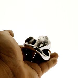 HT V3 콕 CAGE MICRO 작은 순결 장치 NEW V3 너브 STEEL 버전 순결 케이지 장치 BDSM 장난감 미니 음경 반지 반디 페티쉬 수탉