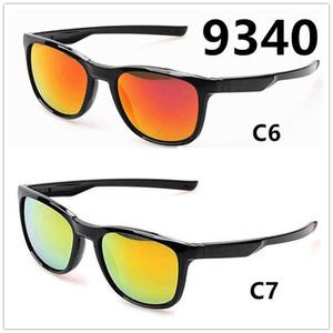 Lunettes de soleil de la marque de sport 9340 hommes et femmes portant des lunettes de soleil coupe-vent extérieures 9 couleurs en option