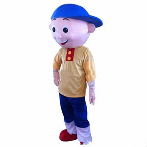 2018 Factory direct sale Cailou Mascot Costume Cartoon Fancy Dress Adult size Free Shipping
