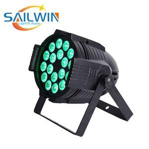 Fiesta de la boda Sailwin BRITÁNICA 18x15W 5en1 RGBAW Par LED luz LED DJ Par puede etapa luz para