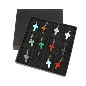 Pendentif croix, homme et femme, exquis, simple et généreux, collier populaire, 12 pièces