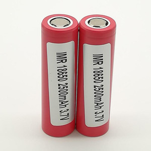 100pcs 100% High Quality For LG HE2 18650 Battery 2500mAh IMR 3.7V for LG SONY Samsung Rechargable Lithium Batteries Cell