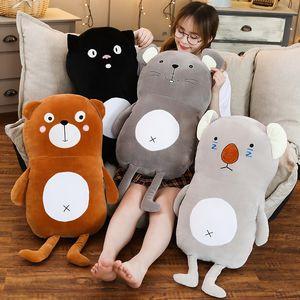 Kawaii Cartoon Plush Mouse Bear Cat Koala Toys Stuffed Animal Nice Pillow Room Decor Gift For Girls Children Christmas AP