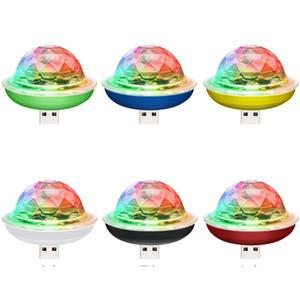 Mini lampade a sfera magiche a led Mini luci per palcoscenico con controllo vocale Usb vendono bene con vari colori 6 5al J1