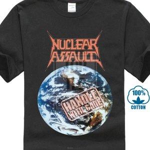 Punho de assalto nuclear com cuidado 1989 capa do álbum