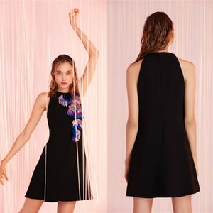 Evening Dresses Tulle Sleeveless Short Prom Dress Little Black Dreess Party Wear Custom Made Red Carpet Gowns