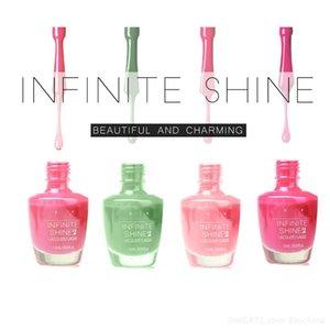 En Popüler INFINITE SHINE2 Orijinal Otantik Toksik Olmayan Renk Lehçe Kalıcı Haftalık Oje Cila / Laque15ml / 0.5fl.oz DHL ÜCRETSIZ