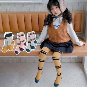 3pcs lot girls tights kids little girls stockings baby pantyhose striped knit tights cotton warm toddler panty hose for kids boy