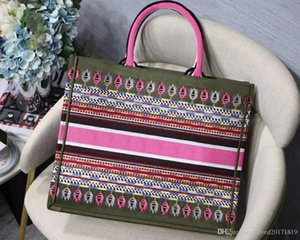 HOT!Classic Europ style shopping mesh Bag luxury pattern women's Bag Women Canvas bag Hand embroidered pattern mesh Case