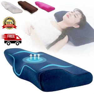 Relax Contour Memory Foam Pillow Studio Testa all'indietro ergonomico ortopedico cervicale
