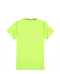 19ss quick dry cool pax absorção de umidade padrão de suor gola circular t-shirt lazer esportes mens designer t camisas