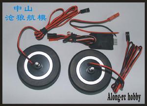 FREE SHIP RC airplane RC Model spare part- electronic brake system for rc airplane JP brake wheels 60mm EDF PLANE