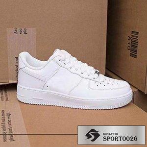 summer af1 07 LV8 Utility hot Brand High low Red Black White Women Men Designer Shoes triple Casual Shoes