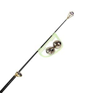 10 Pcs lot Luminous Sea Fishing Feeder 50mm Fishing Bell Twin Alarm Rod Tip Fishing Tackle