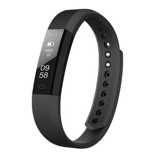 Fitness Bracelet ID 115 Smart Bracelet Vibrating Alarm Clock Smart Band Fitness Watch Smartband For xiaomi pk fitbits
