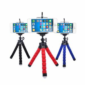 Telefone selfie vara Sponge Octopus Tripé Bluetooth selfie Set Suit Levante Grande Angular Macro Fisheye tripé para iphone Samsung Huawei
