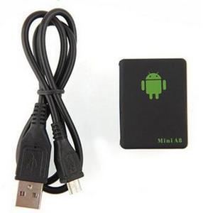 미니 A8 자동차 GPS 트래커 글로벌 로케이터 실시간 4 주파수 GSM GPRS 보안 자동 추적 장치 지원 어린이를위한 안드로이드 애완 동물 자동차