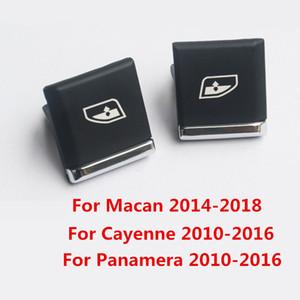 Reemplazo de botón del interruptor del elevador de la ventana lateral del conductor de plástico para Porsche Macan 2014 - 2018 Panamera Cayenne 2010-2016