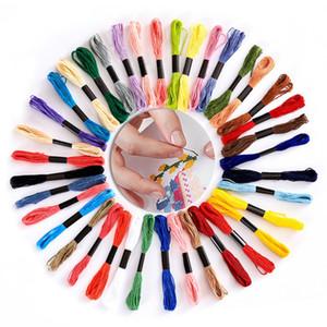 Yüksek Kalite Çok renkleri Nakış Konu Çapraz Dikiş Konuları Ev Nakış Konu Floss Dikiş Örgü Araçları