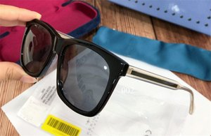 Yeni moda pop gözlük tasarımcısı Retro 0558 kare kare basit bir atmosfer tarzı en kaliteli UV 400 açık gözlük güneş gözlüğü