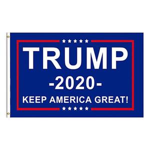 Benutzerdefinierte Trump Flags Halten Sie Amerika Große Flagge 3x5 Füße Innen hängend mit Messingösen American President Trump Flaggen und Banner Polyester