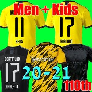 19 20 21 BVB Borussia Dortmund Fußball Trikot 2019 2020 2021 HAALAND GOTZE REUS WITSEL Trikot  Fußball-Trikot Herren + Kinder Trikot sets soccer jersey football shirt