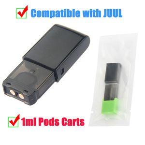 Hottest Thick Oil Empty Cartridges 1ml Cotton Coil Dispoable Vape Pen Pods Closed System Vapor Tank Compatible with Y Battery