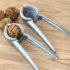 Aleación de zinc cascanueces Sheller grieta almendra de la nuez pacana avellana avellana Tuerca Nut Sheller Cocina acortar la herramienta de la abrazadera alicates Cracker BH2422 CY