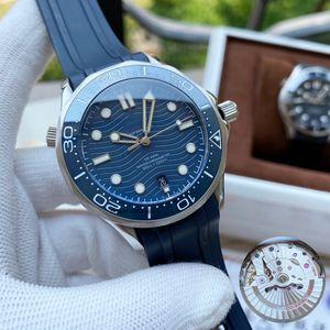 2020 высокое качество Джеймсе Бонде 007 часы аква терра море мастер-часы OMEGA мужские часы D6000