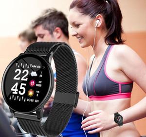 Sport Smart Bracelet 1.0 pollici TFT IPS Display a colori Braccialetto sportivo Monitoraggio della pressione arteriosa frequenza cardiaca Smart Fitness Track Bracele