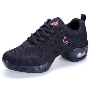 Zapatillas de baile cuadradas Jazz Sailor Spring Ghost Step Mujeres adultas Suave y suave Shuffle Dance Shoes Portabilidad Absorción del sudor usar calzado
