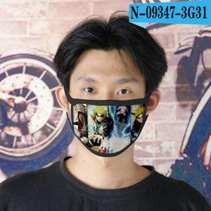 2016 AO naruto cubrebocas progettista tapabocas maschera riutilizzabile per la maschera del fumetto dei bambini faccia 02 bde2011 QYnxi
