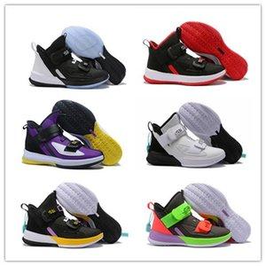 К 2020 году новых солдат ХІІІ ЕР ЕР 13 мужская баскетбольная обувь высокое качество 13С ШВСМ дома ограничить камуфляж фиолетовый ледовый кроссовки 40-46 нас