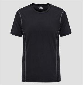 Mens Designer T-shirts manches courtes Pure Color Slim ras du cou T-shirts Pull d'été Courir Vêtements de loisirs