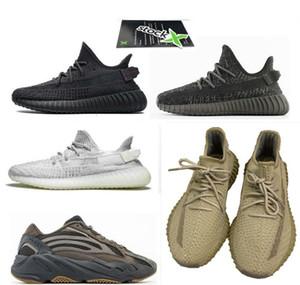 2020 Ye chaussures la version v2 Chaussures de course yecheil yereel Yeshaya taille réfléchissante statique blanc nuage eur 36-48 v2 avec la boîte, la réception, chaussettes