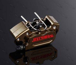 Motorcycle Expédition gratuite frein Étriers 64mm Trou 24mm * 4 Frein Pumb Pour Modifier
