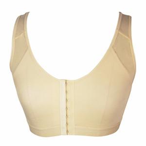النساء بعد الجراحة في الأمام حمالة صدر مفتوحة للشفاء مع حزام الكتف قابل للتعديل بعد زيادة الصدر عملية bra E08 Y200422