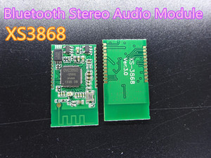2pcs / lot nuovo XS3868 Bluetooth Stereo Audio Module OVC3860 chip supporta A2DP AVRCP nel trasporto libero