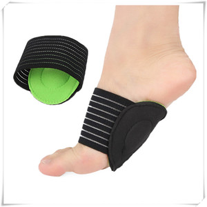 Shoe Designer-Mounchain Unisex 1pair tornozelo proteção respirável pé Arco espessamento do pé Mat Sports Palmilha Pad Strap Bandage